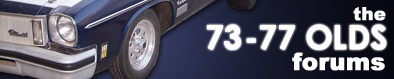 73-77 Oldsmobile Forums - Powered by vBulletin